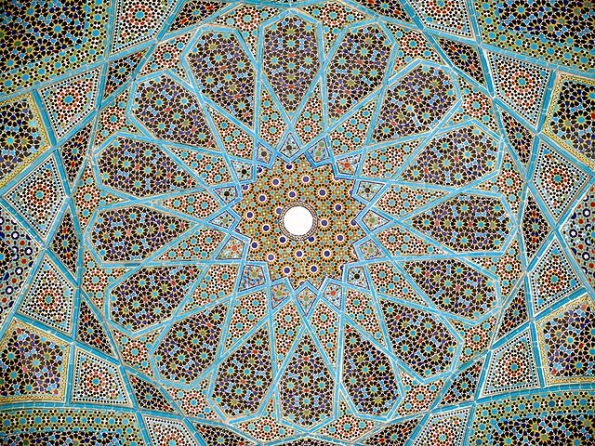 Roof of Hafez Tomb
